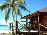 Our fale on Mounu Island