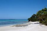 Mounu Island has beaches all around it