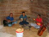 Musicians at the Tongan Fest at Hinakauea Beach