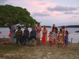 Dancing at the Tongan Feast