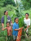 A Tongan family