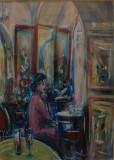 Appuntamento al Caffé Greco, by Stellario Baccellieri