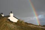 Rainbow Llanddwyn Anglesey.
