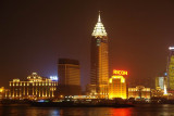The Bund at night from Pudong side