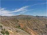 MT. ADAMS . . .  BEHIND THE BARREN LANDSCAPE