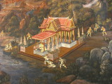 Mural at Wat Phra Kaew