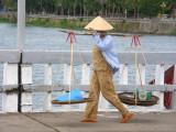 Crossing the Phu Xuan brigde