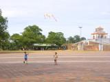 Boys with kites