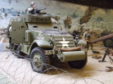 1669 G102 White M3A1 halftrack