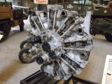 1936 Guiberson T1020-4 engine (Stuart M3)