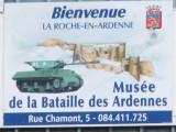 La Roche-en-Ardenne Musee de la bataille des Ardennes, september 29