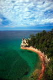 9 - Pictured Rocks on Lake Superior