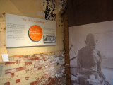 Mahatma Gandhi's room
