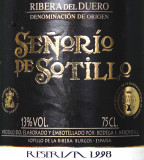 España / Ribera del Duero / 1998