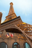 Eiffel Tower over Paris
