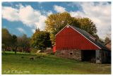 Autumn Morning at Stover Myer Farm