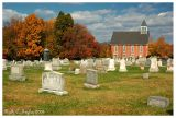 Autumn Color Along Christ Evangelical Lutheran Church