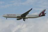 Qatar Airways   Airbus A330-300   A7-AEJ