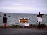 Heavy signposting