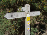 Taking the bridleway