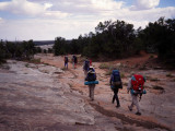 Hiking to the Owl Creek