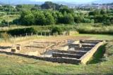 Ruinas romanas en Forua.