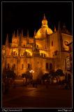 Segovia at night