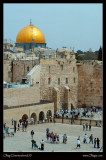 The Wailing Wall and the Dome of the Rock, Jerusalem