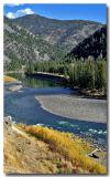 Yellowstone River in Fall 2