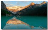 Sunrise, Lake Louise 1
