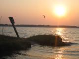 5/15/07 - Sunset Kiteboarding Session