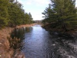 Black Creek - downstream at Black Ance Road
