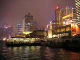 Queen's Pier at night