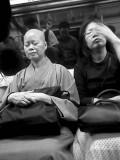 Monk & Lady, MTR, 2007