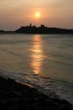 Peel Castle Before Sunset