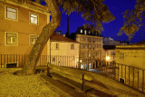 Corner between Escolas Gerais and S. Tomé Street