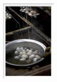 Silk Factory - Boiled cocoons