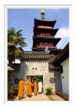 Hanshan Temple - The Monks & The Pagoda