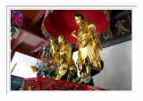 Hanshan Temple - The Golden Statues