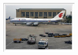 PEK Beijing Capital International Airport - Air China Boeing 747