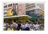 Crowded Hong Kong Street