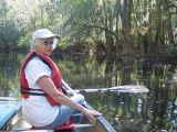 SARA LOVED CANOEING THE CONGEREE NATIONAL PARK