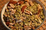 toasted seeds and nuts