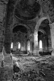 inside destroied church