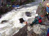 saving kayak