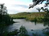 junction of  krasnenkaya river and upper lakes