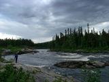 Tymcha river. Karniz rapid