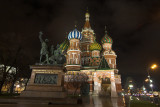 Vasily blessed temple,  Minin & Pozharsky monument. Moscow