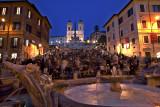 Piazza di Spagna -  The Spanish Steps - SS.Trinità dei Monti. Rome