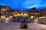 Piazza di Spagna -  Above  Spanish Steps. Rome